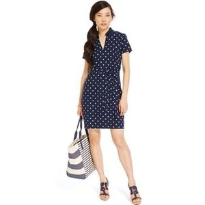 TOMMY HILIFIGER Belted Samantha Polo Dress